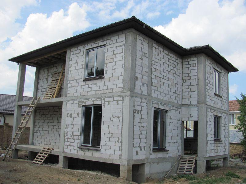 Монолитно железобетонный дом своими руками